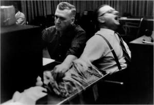 One of the Milgram Experiments