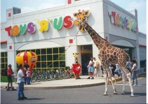 Commerford Zoo rent-a-giraffe